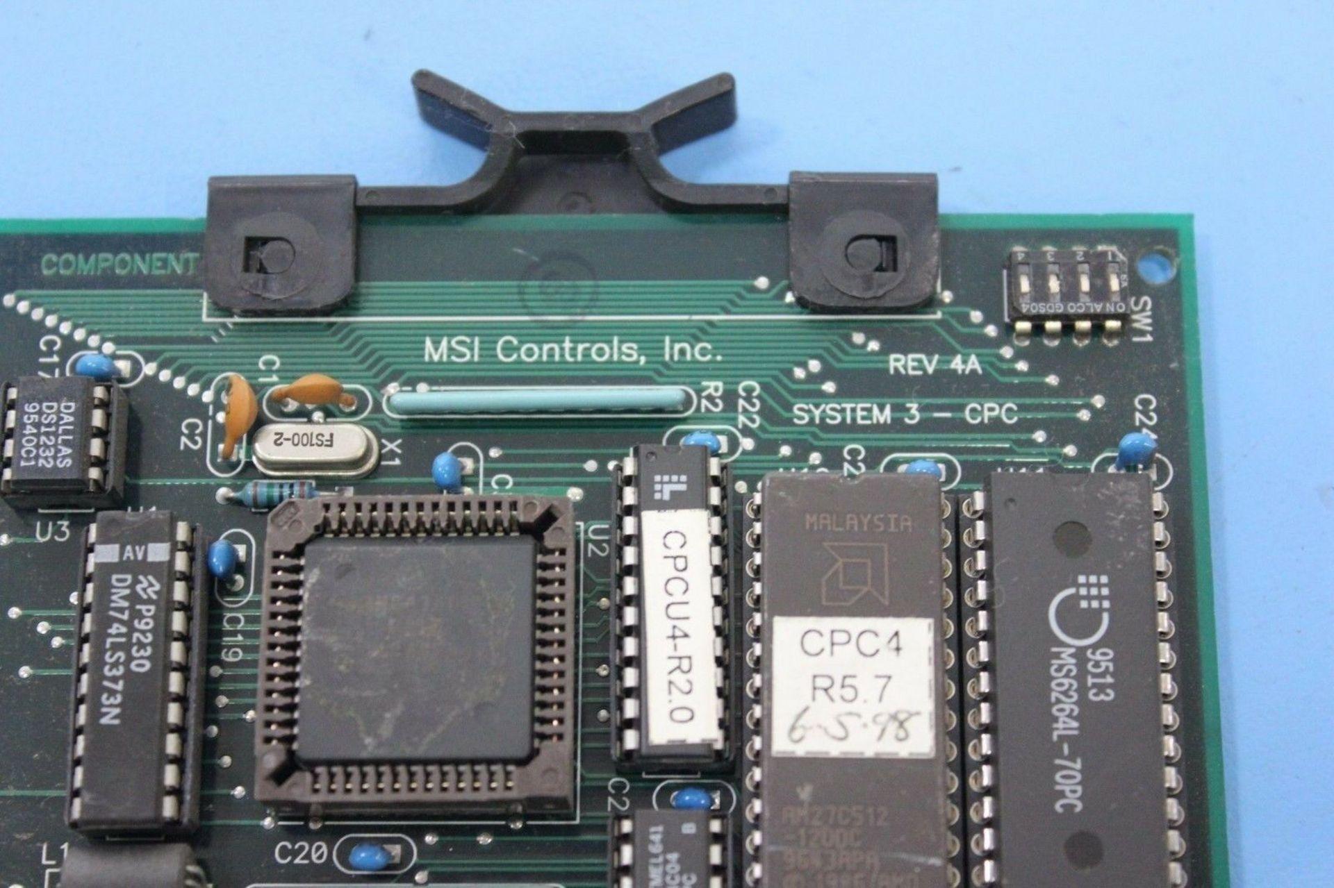 Lot 1173 - AMERICAN MSI HOT RUNNER CPU BOARD