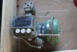 """FISHER 1"""" VALVE WITH POSITIONER"""