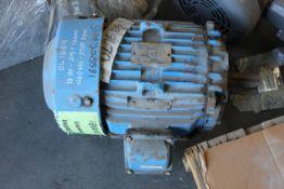 GE 10HP INDUSTRIAL MOTOR