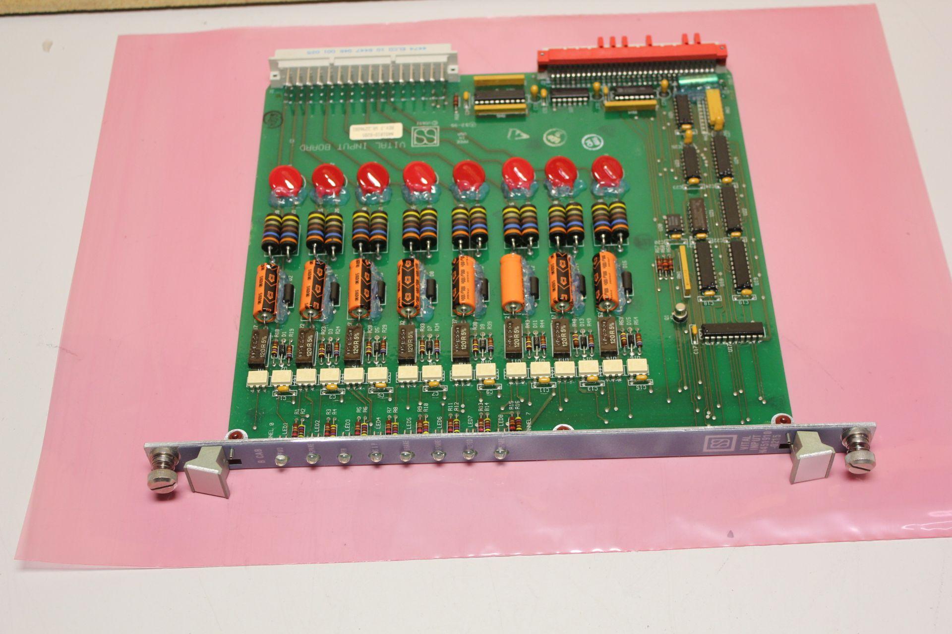 Lot 24 - USSI/ANSALDO VITAL INPUT CONTROL MODULE
