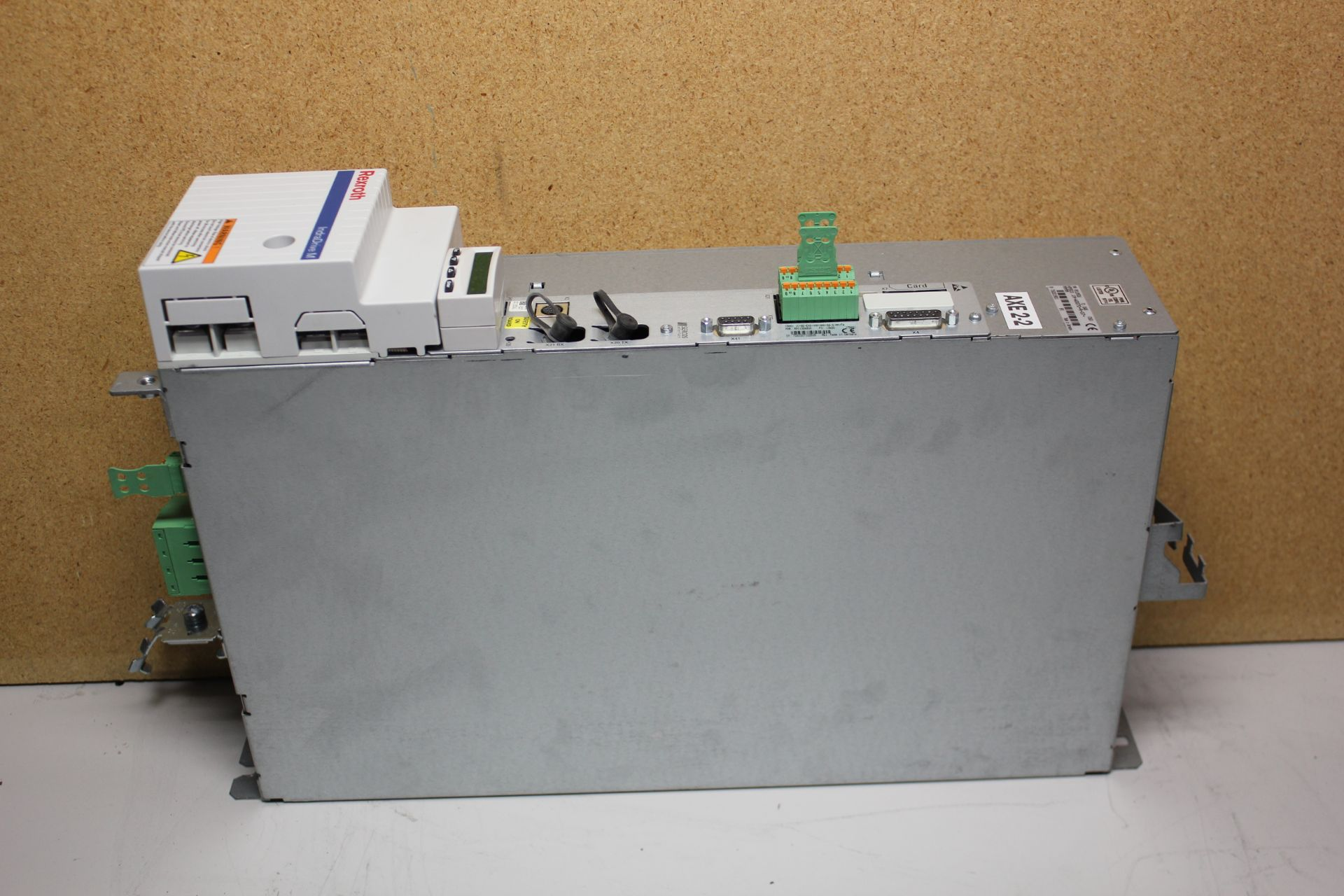 REXROTH INDRADRIVE M SINGLE AXIS INVERTER SERCOS MODULE