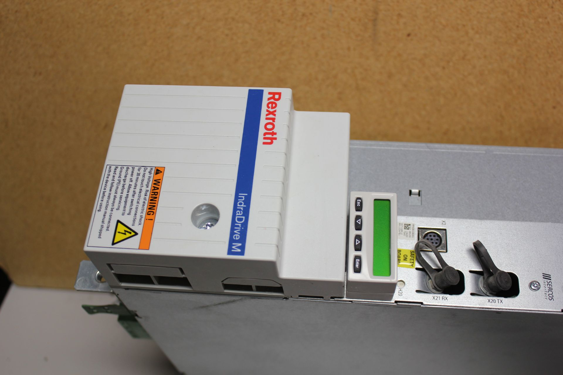 REXROTH INDRADRIVE M SINGLE AXIS INVERTER SERCOS MODULE - Image 2 of 7