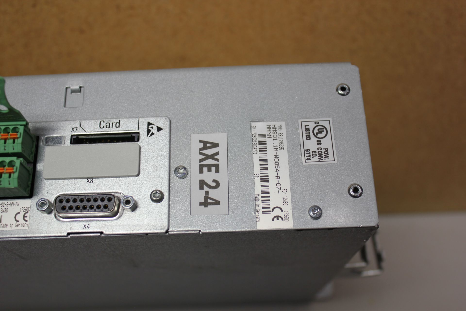 Lot 183 - REXROTH INDRADRIVE M SINGLE AXIS INVERTER WITH SERCOS MODULE