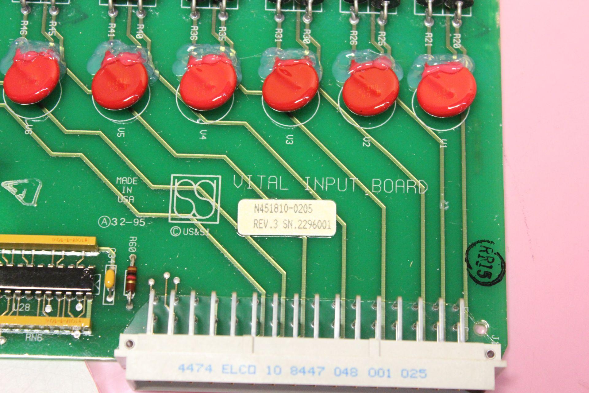 USSI/ANSALDO VITAL INPUT CONTROL MODULE - Image 4 of 4