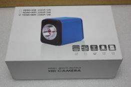 NEW AMSCOPE 1080P HDMI & WiFi MICROSCOPE CAMERA