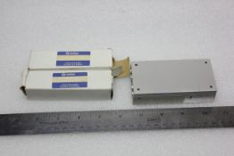 LOT OF PRECISION LINEAR SLIDE TABLE STAGES