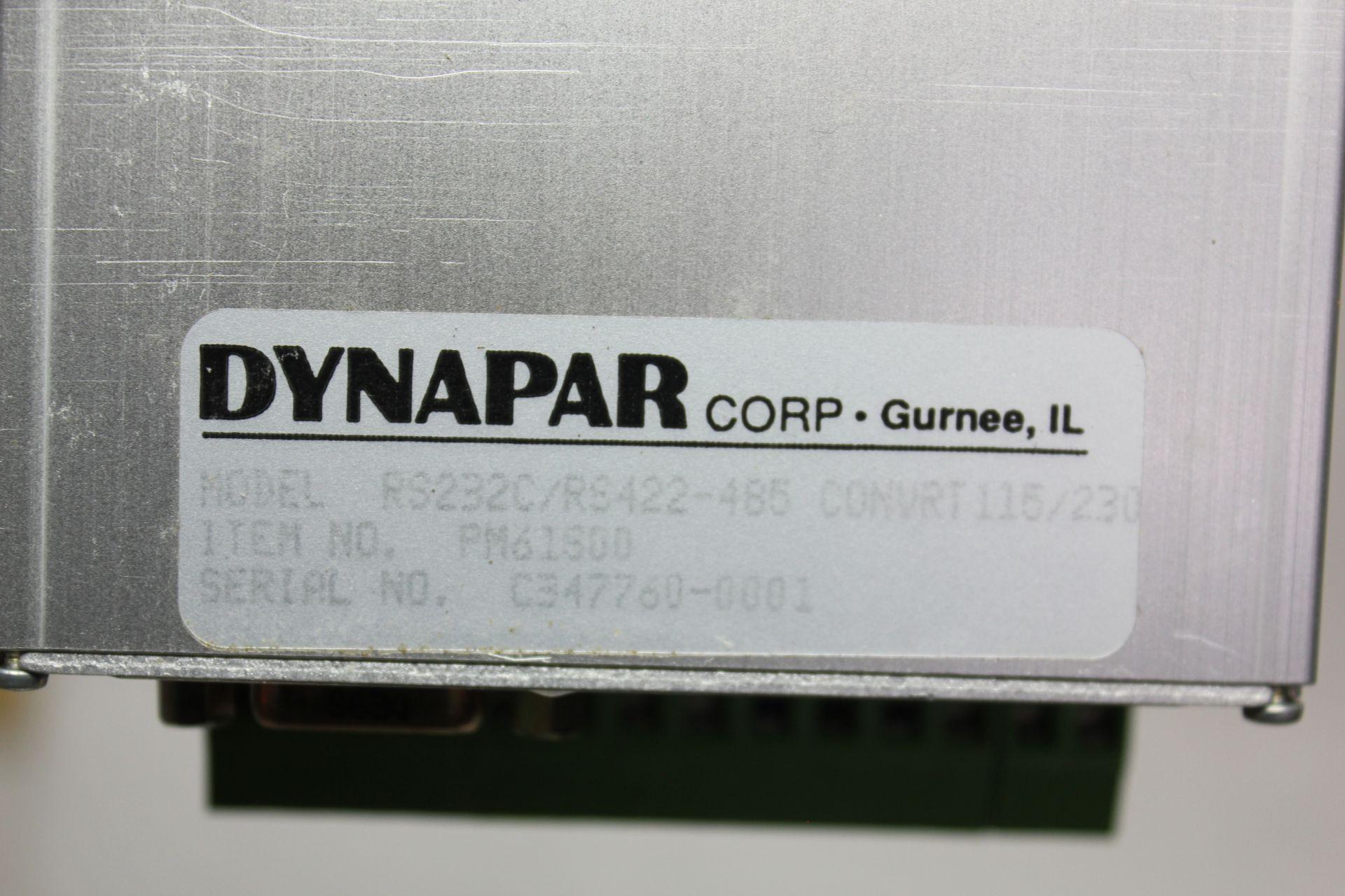 Lot 17 - DYNAPAR RS232C/RS422-485 CONVERTER