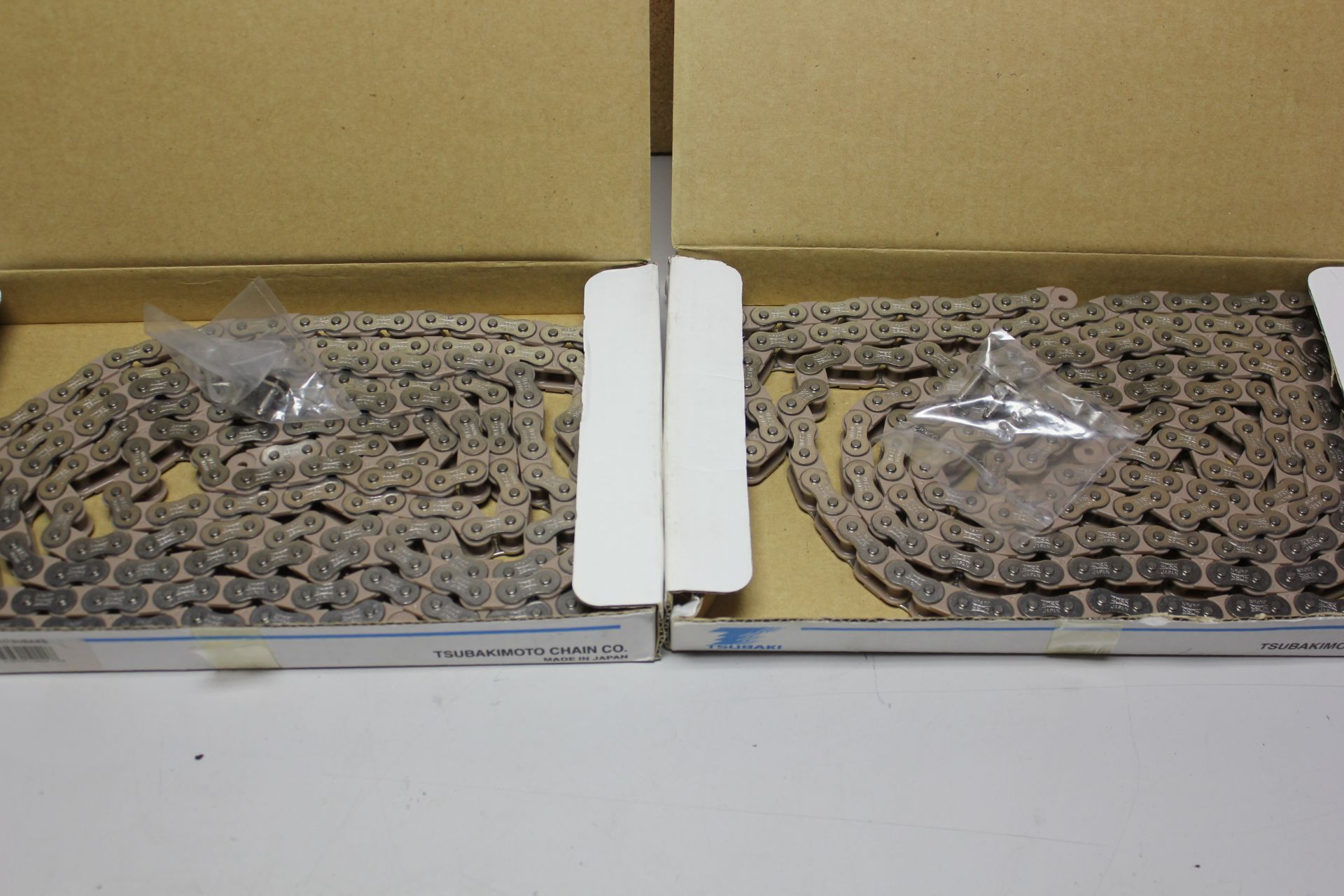 Lot 36 - 2 NEW BOXES OF TSUBAKI ROLLER CHAIN