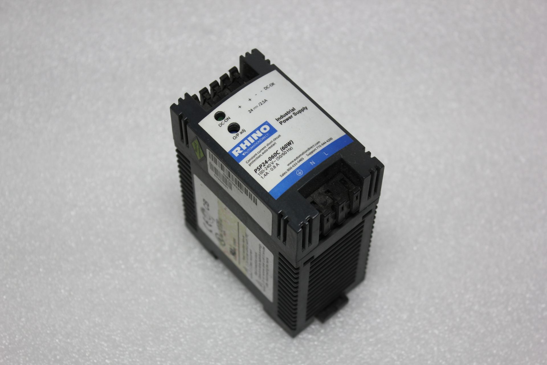 Lot 7 - AUTOMATION DIRECT RHINO POWER SUPPLY
