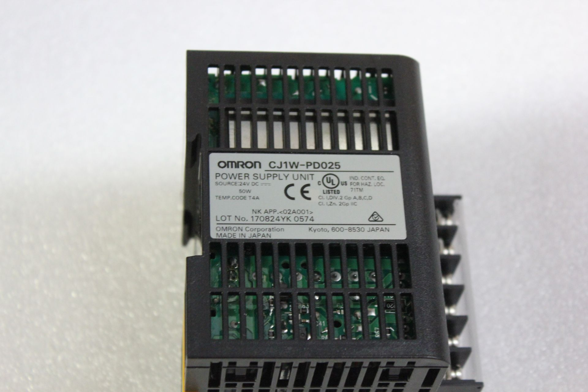 Lot 43 - OMRON PLC POWER SUPPLY