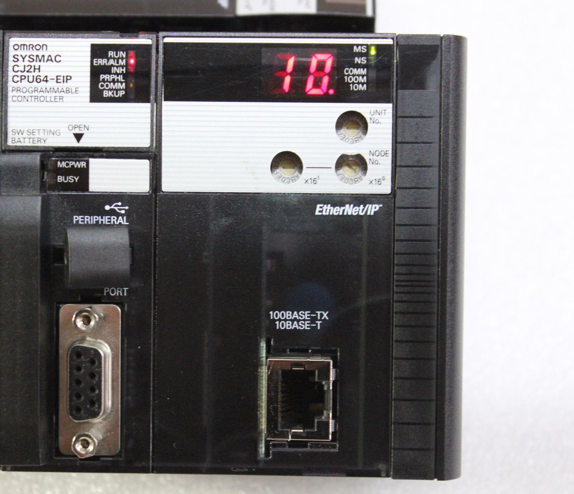 Lot 39 - OMRON PLC CPU PROCESSOR
