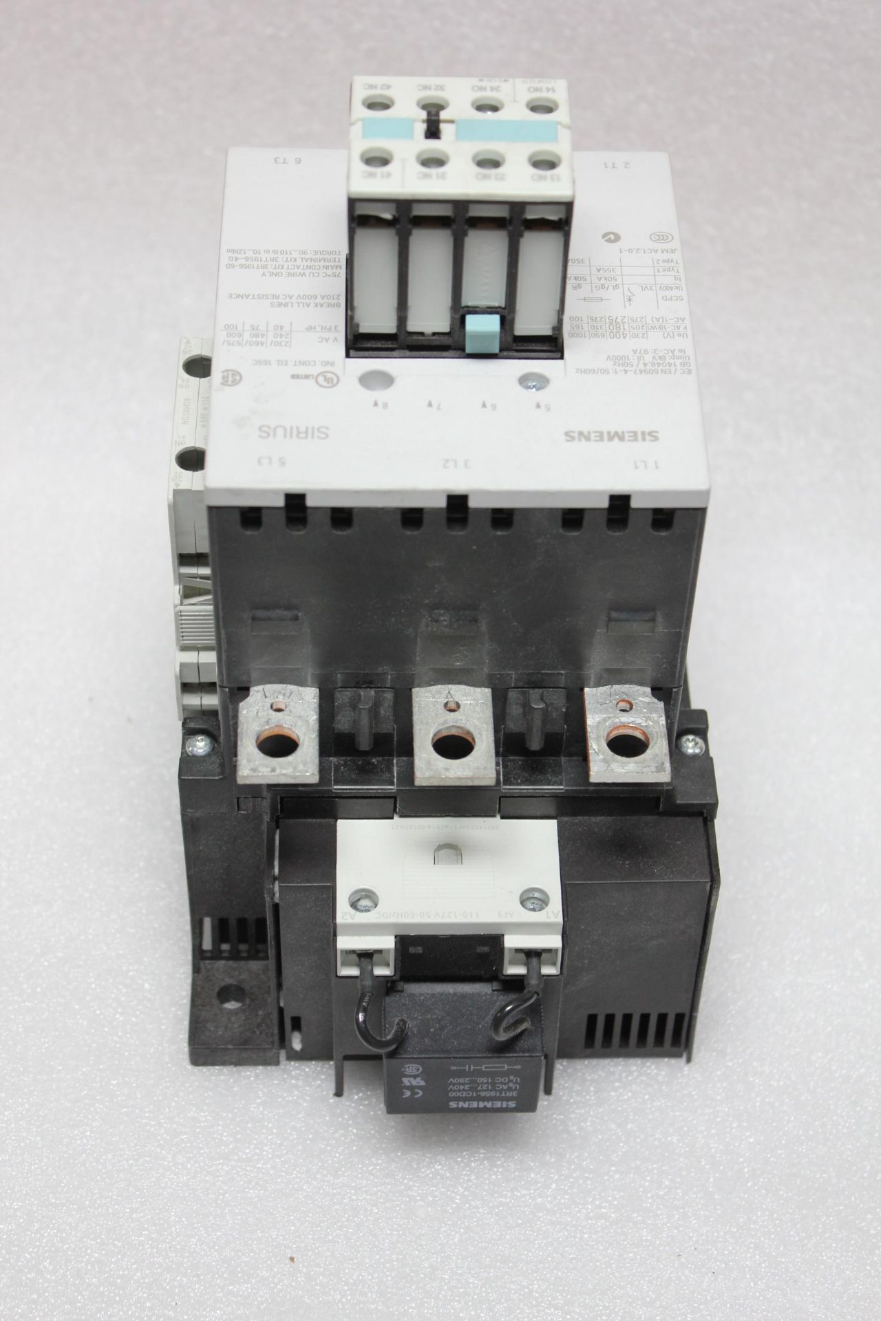 SIEMENS 350A CONTACTOR - Image 8 of 9