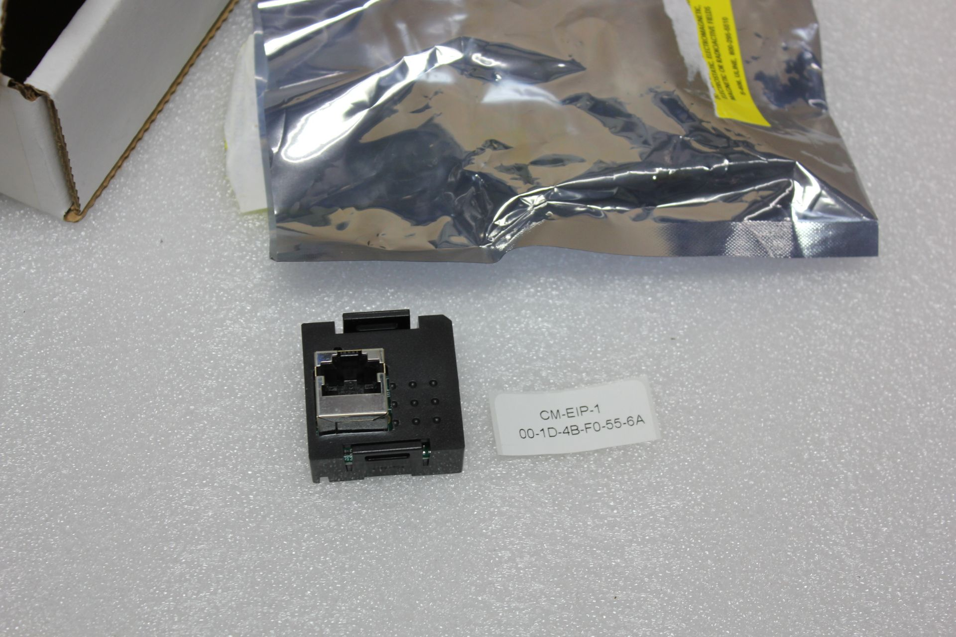 Lot 56 - NEW OMRON ETHERNET/IP PLC EXPANSION MODULE