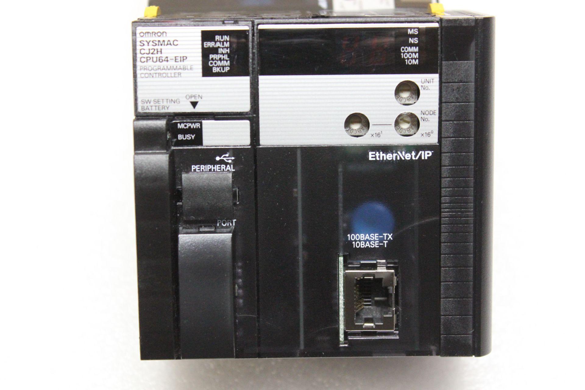 Lot 38 - OMRON PLC CPU PROCESSOR