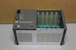 CONTROL TECHNOLOGY 5 SLOT PLC RACK/CHASSIS