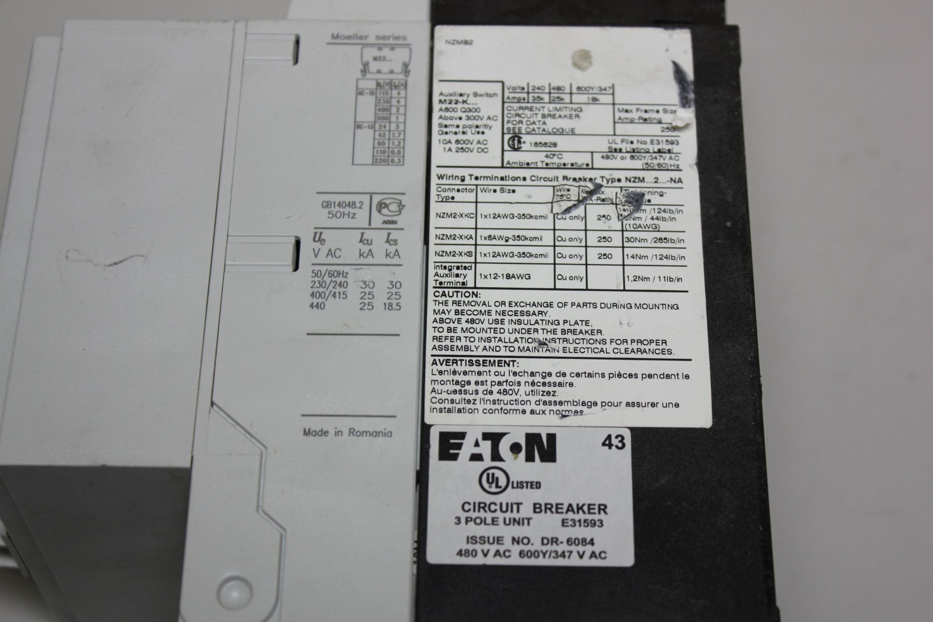 Lot 28 - EATON DISCONNECT SWITCH