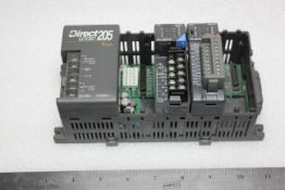 KOYO DIRECT LOGIC 205 PLC CHASSIS WITH MODULES