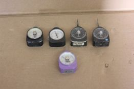 LOT OF 5 TENSIONS GAUGES