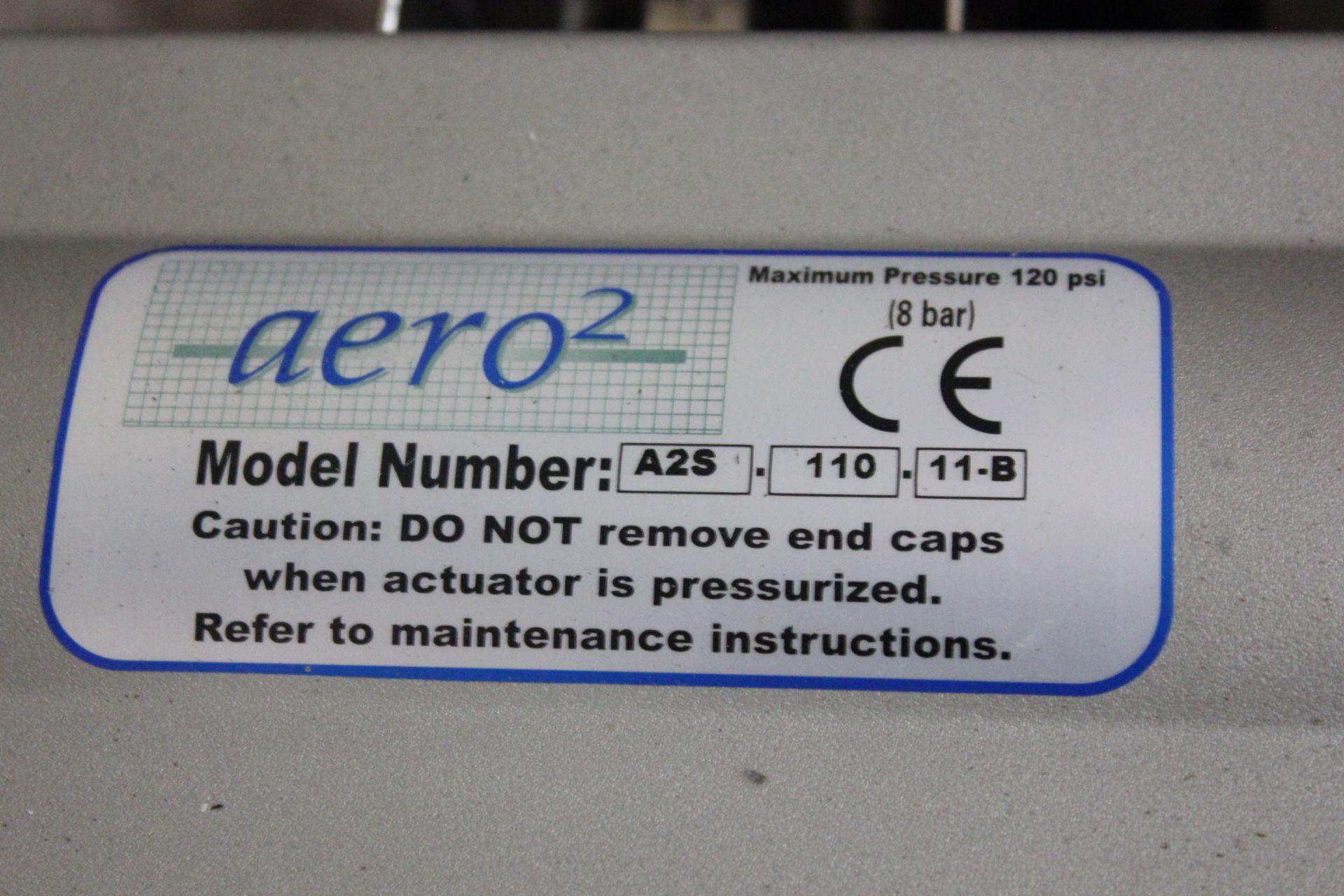 "NEW AERO2 PNEUMATIC ACTUATOR & 2"" BALL VALVE - Image 2 of 3"