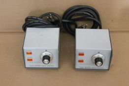 LOT OF 2 THERMOLYNE 45500 INPUT CONTROLLERS