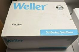NEW WELLER WX1 ESD SAFE DIGITAL SOLDERING STATION