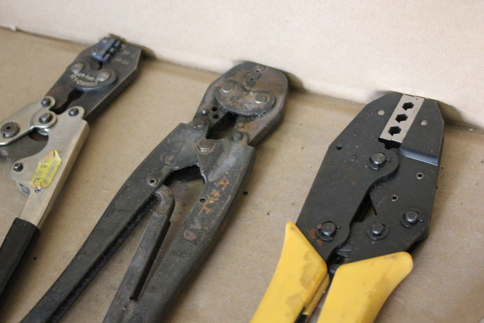 LOT OF HAND CRIMPER TOOLS - Image 5 of 8