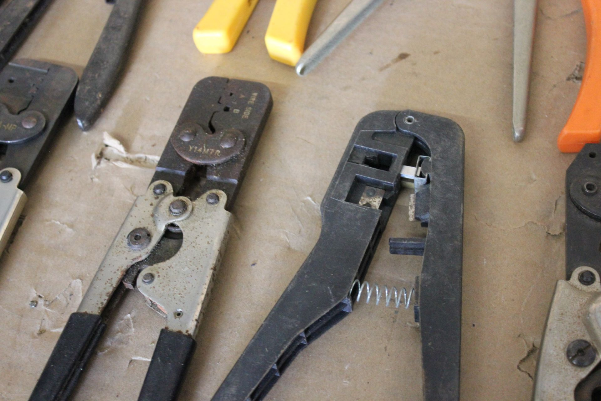 LOT OF HAND CRIMPER TOOLS - Image 7 of 8