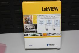 NATIONAL INSTRUMENTS LABVIEW SOFTWARE