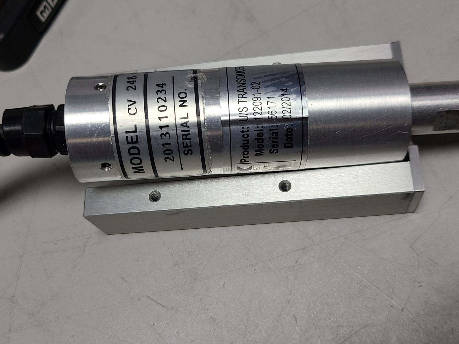 MARK-10 FORCE MEASUREMENT TEST STAND & TRANSDUCER - Image 7 of 8