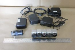 LOT OF MACHINE VISION CAMERAS WITH POWER SUPPLIES
