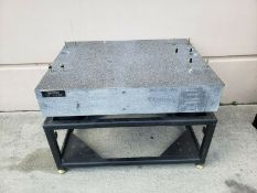 TRU-STONE GRANITE VIBRATION ISOLATION INSPECTION TABLE