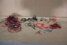 LOT OF TEST PROBES AND CABLES