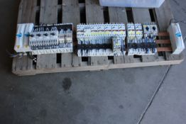 ALLEN BRADLEY BUS BARS WITH CONTACTORS AND FUSE HOLDERS