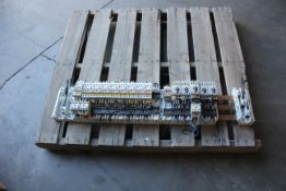 ALLEN BRADLEY BUS BAR WITH CONTACTORS AND FUSE HOLDERS