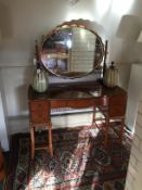 An Art Deco dressing table by Herbert Richter for Bath Cabinet Makers