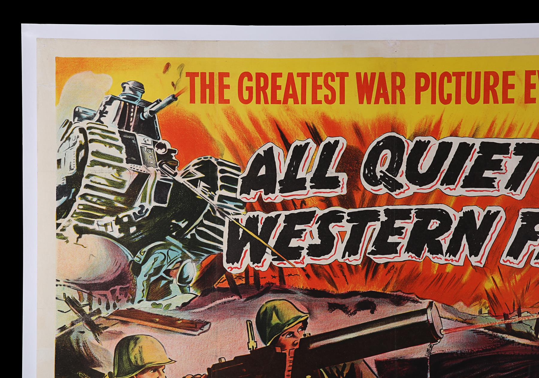 ALL QUIET ON THE WESTERN FRONT (1930) - UK Quad, 1950 - Image 2 of 6