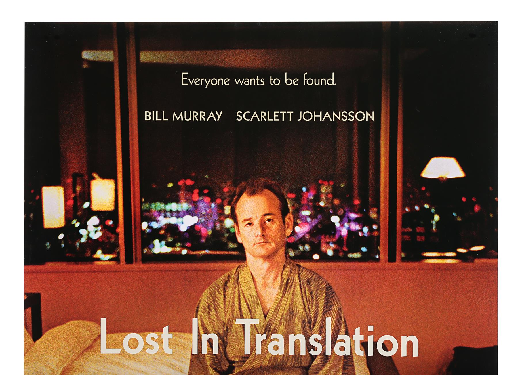 LOST IN TRANSLATION (2003) - Two US One-Sheets (Style A and B), 2003 - Image 6 of 7