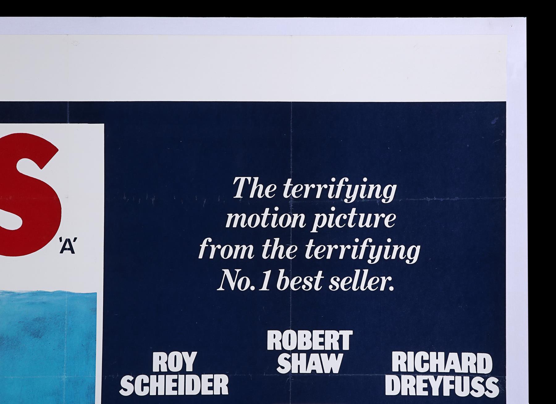 JAWS (1975) - UK Quad, 1975 - Image 3 of 5