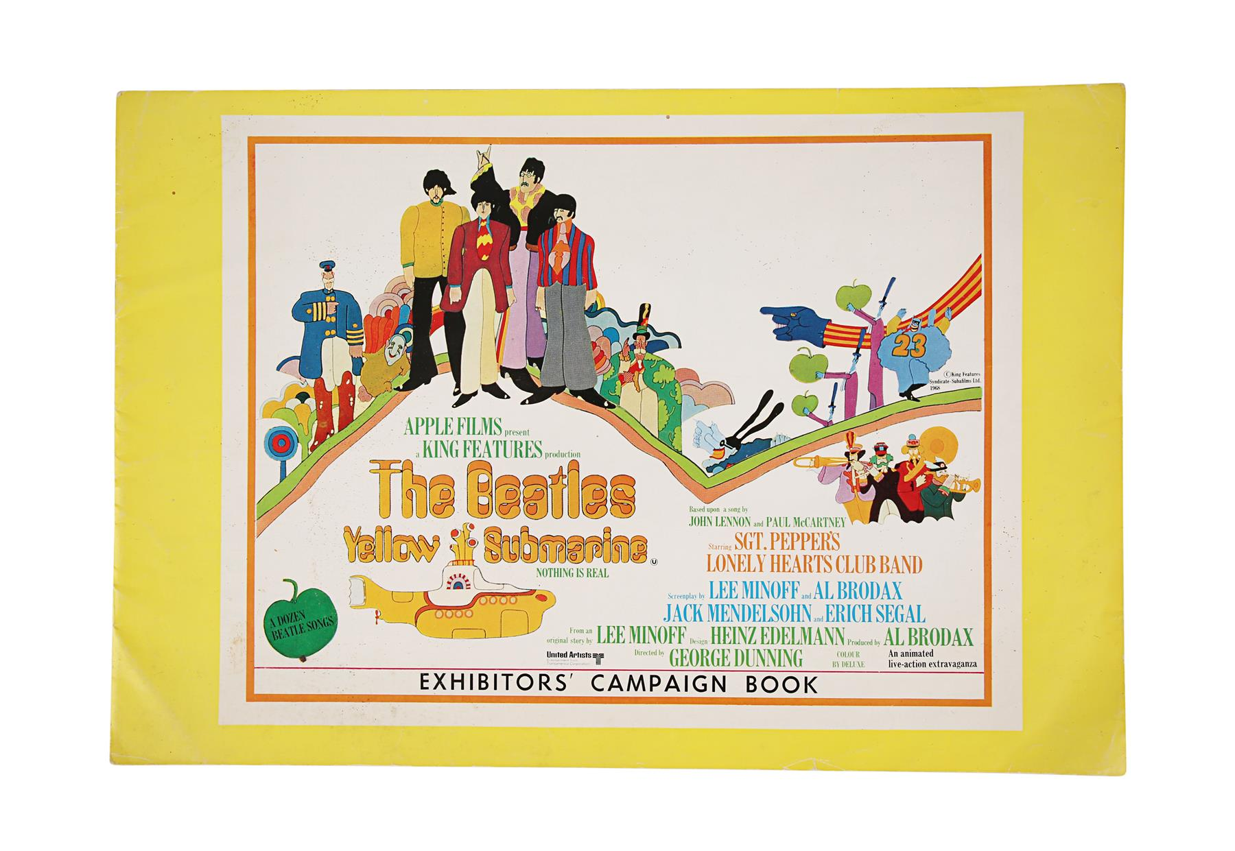 YELLOW SUBMARINE (1968) - British Exhibitors' Campaign Book and Two Advertising Supplements, 1968 - Image 2 of 7