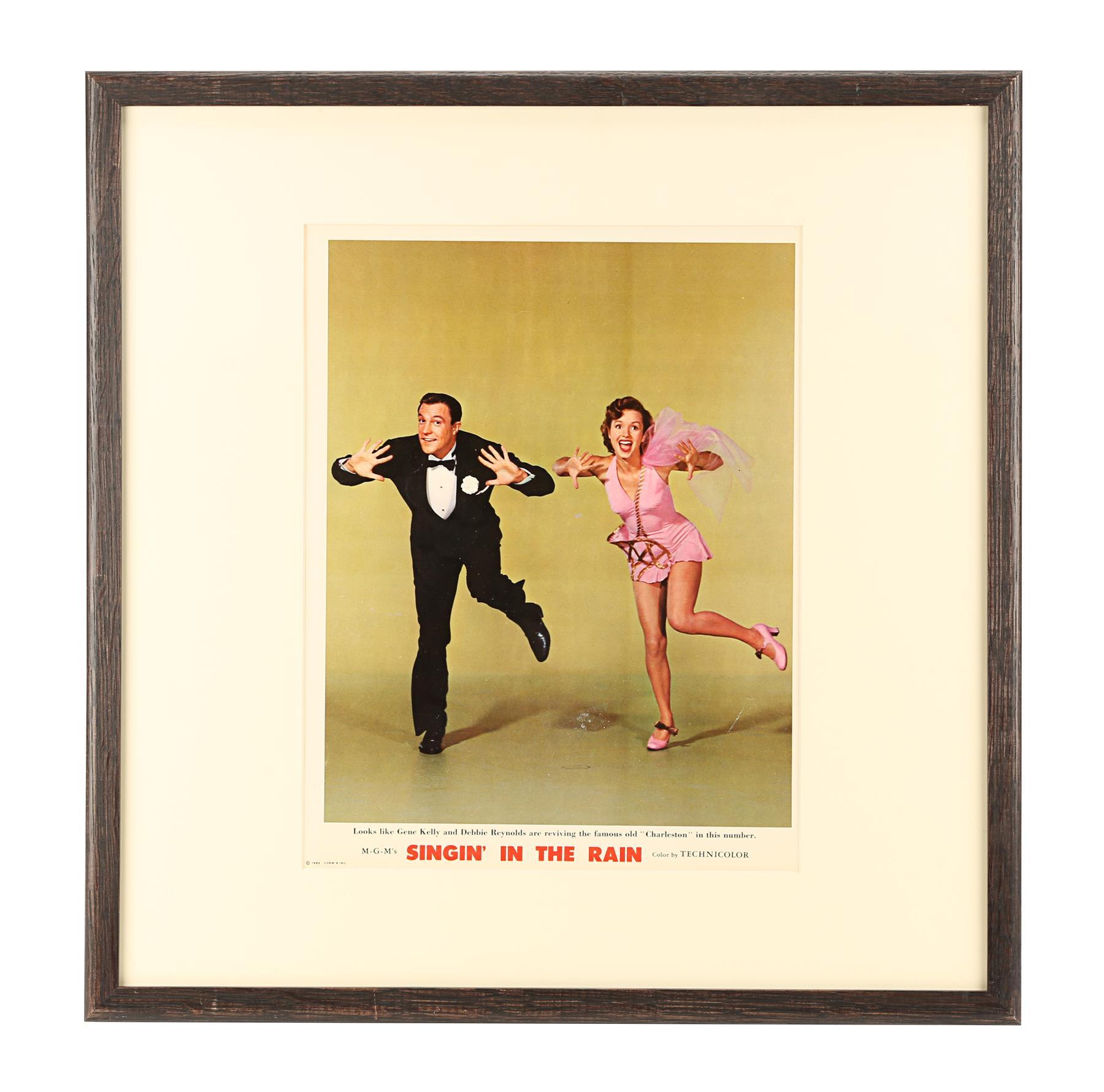 SINGIN' IN THE RAIN (1952) - Deluxe Lobby Card, 1952