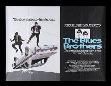 THE BLUES BROTHERS (1980) - UK Quad, 1980