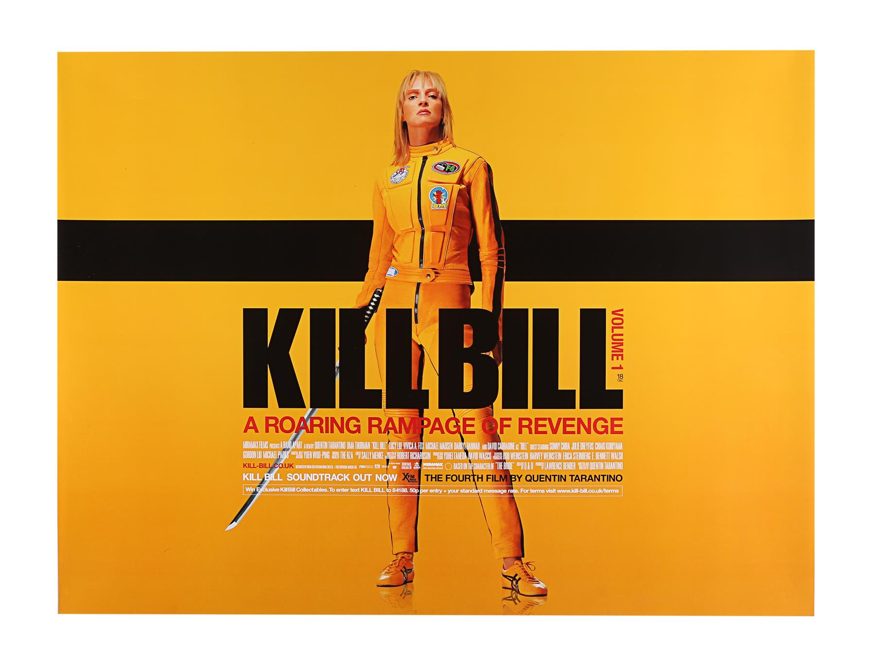 KILL BILL (2003), KILL BILL: VOLUME II (2004) - Two UK Quads, 2003 and 2004 - Image 6 of 9