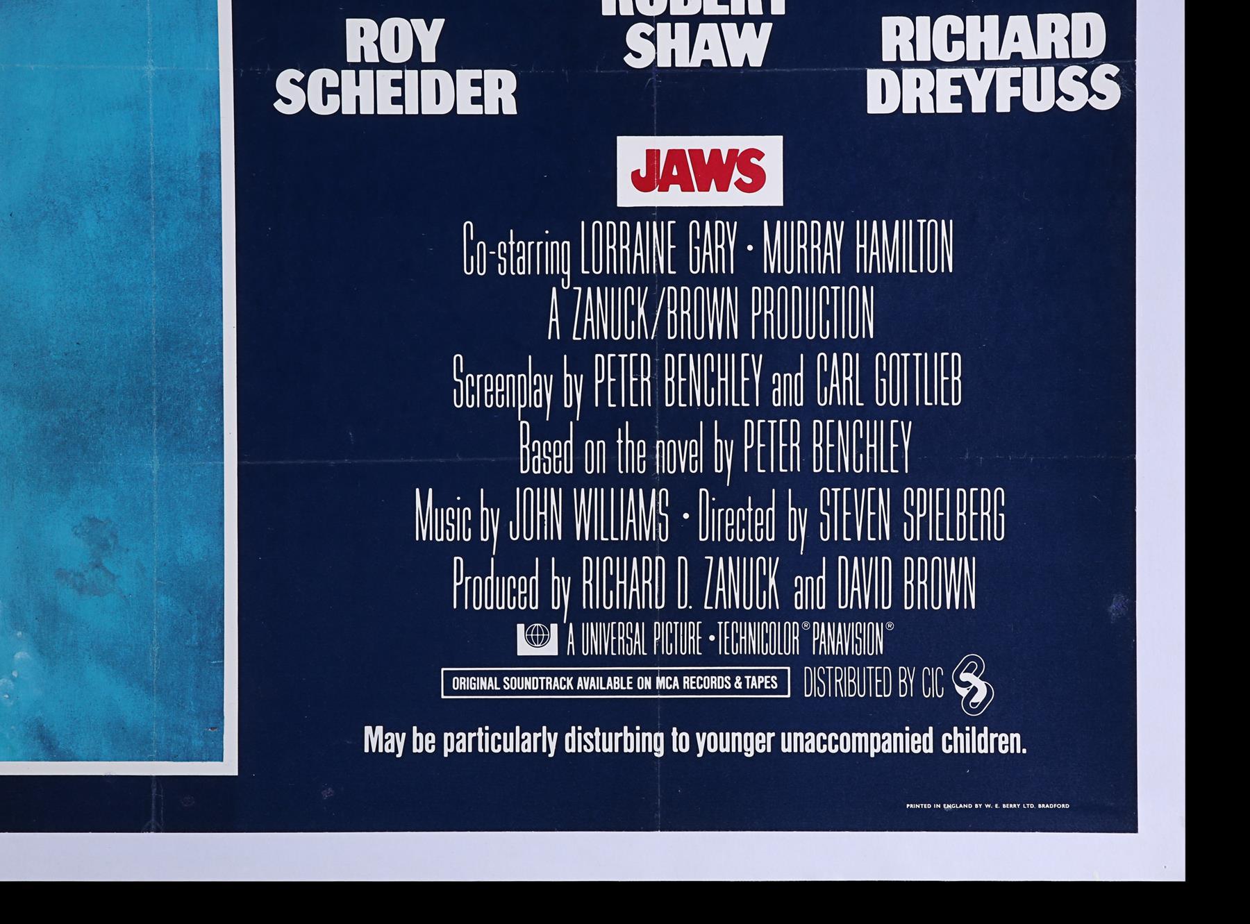 JAWS (1975) - UK Quad, 1975 - Image 4 of 5