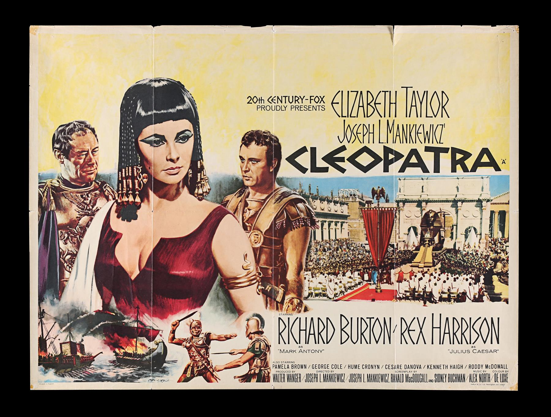 CLEOPATRA (1963) - UK Quad and Exhibitors Campaign Book, 1963 - Image 2 of 7