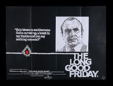 THE LONG GOOD FRIDAY (1979) - UK Quad, 1979