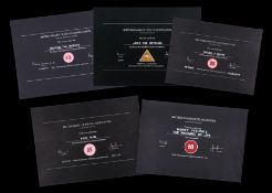 VARIOUS PRODUCTIONS - BBFC Certificates Modern Collection