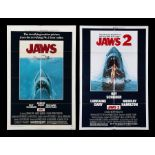 JAWS (1975), JAWS 2 (1978) - Two US One-Sheets, 1975, 1978