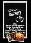 GODFATHER: PART II (1974) - US One-Sheet and Eight Lobby Cards, 1974