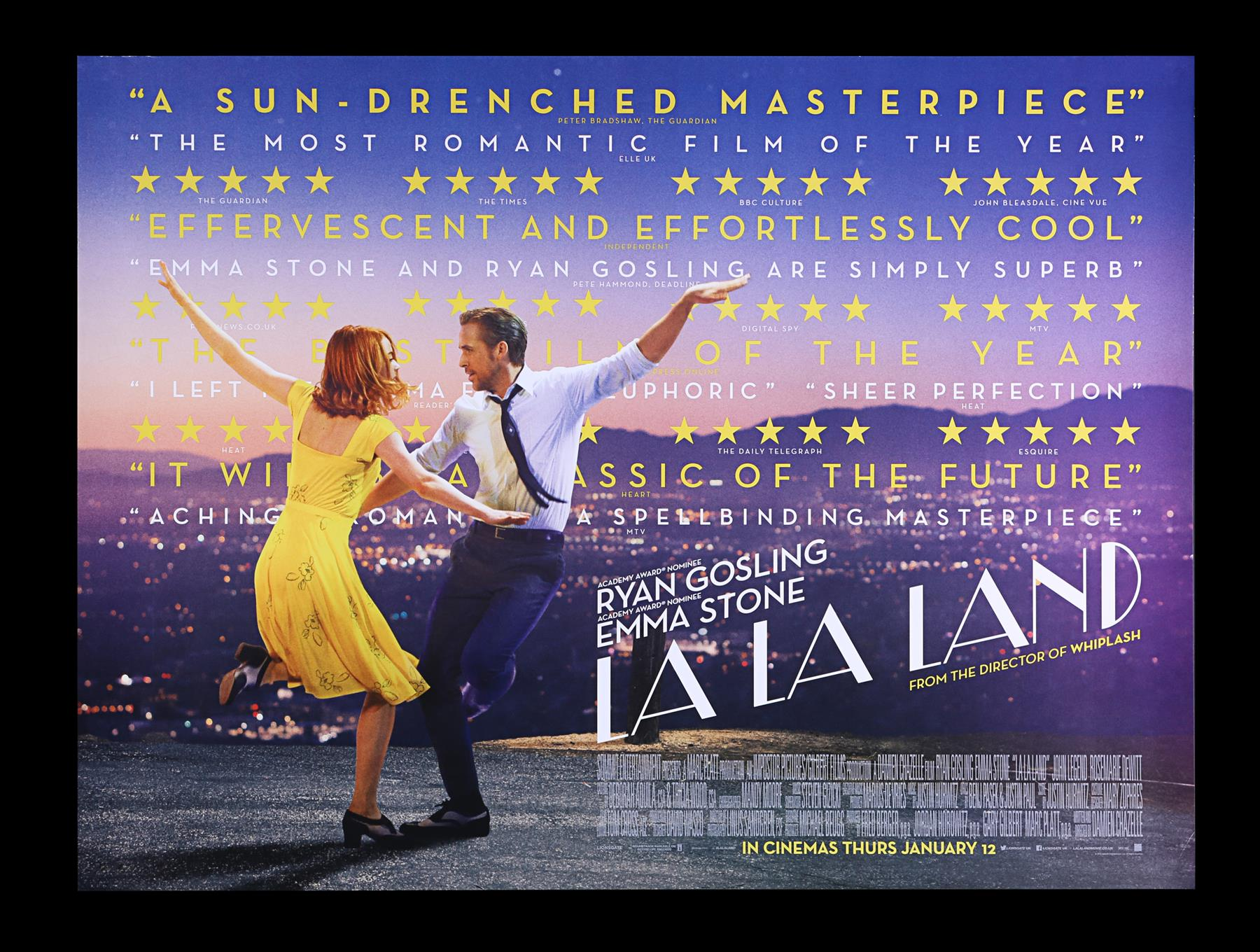 LA LA LAND (2016) - Two UK Quads and One-Sheet, 2016 - Image 4 of 7