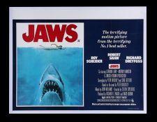 JAWS (1975) - UK Quad, 1975